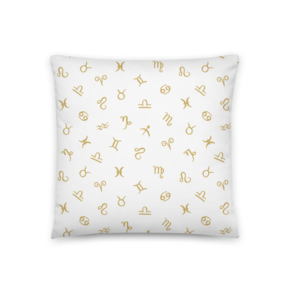 Zodiac logo Pillows