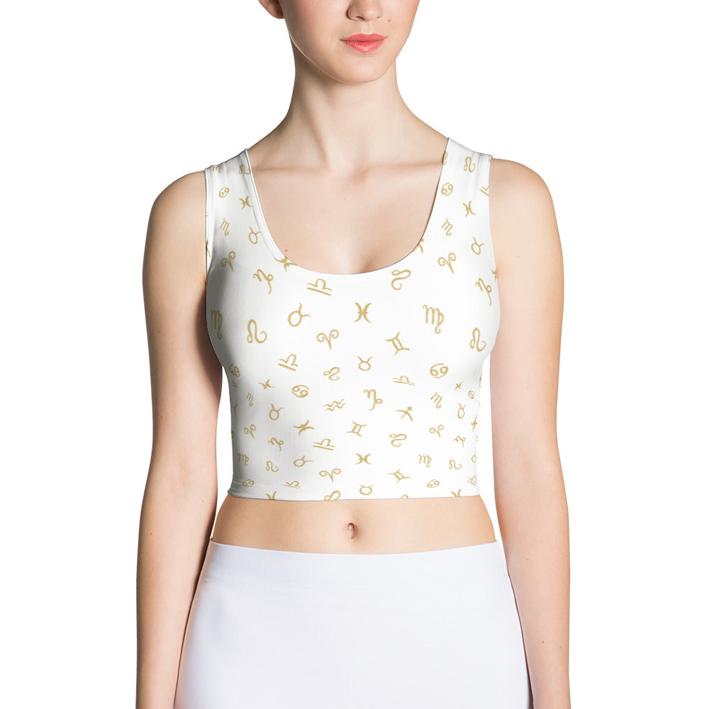Zodiac Logo Crop Top