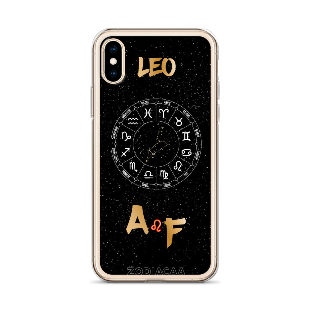 Leo AF iPhone Cases
