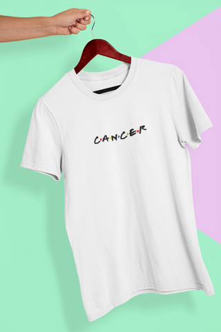 CANCER WHITE T-SHIRT