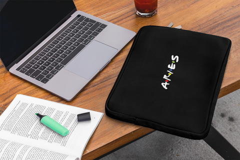 Aries Friends Laptop Sleeves