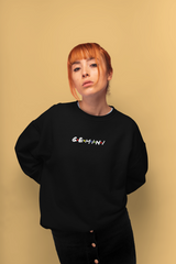 Gemini Black Sweater