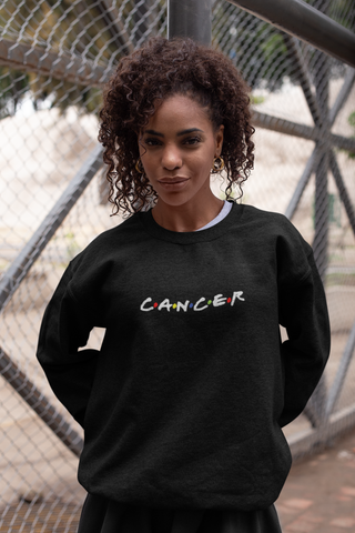 Cancer Black Sweater
