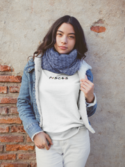 Pisces White Sweater