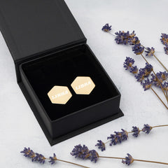 Libra Sterling Silver Stud Earrings