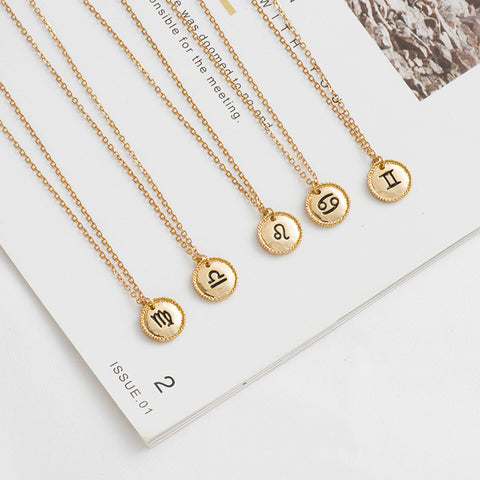 Virgo goldie necklace