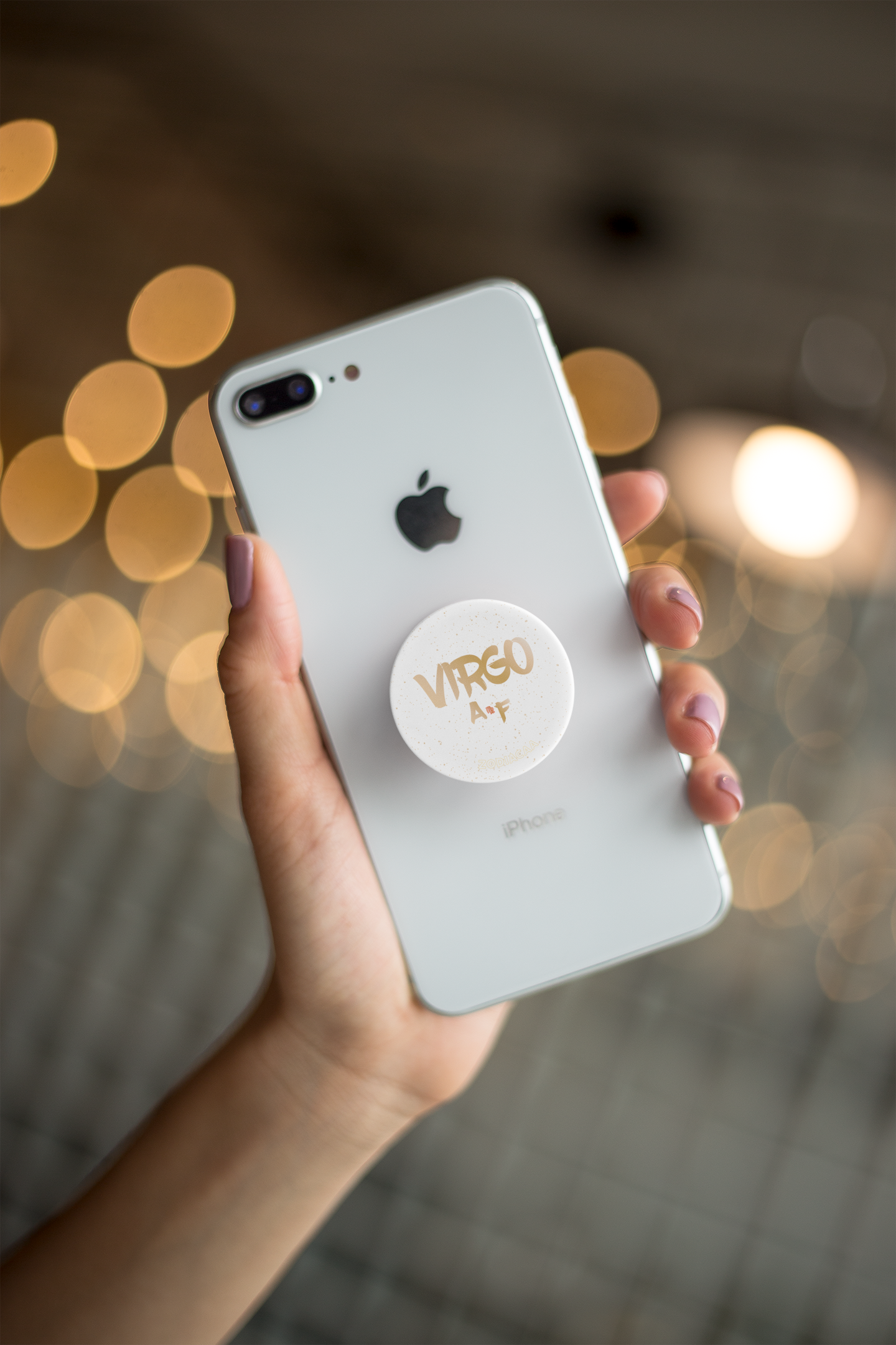 Virgo AF Grip White Phones and Tablets