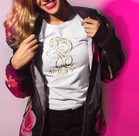 Aries golden T-Shirt