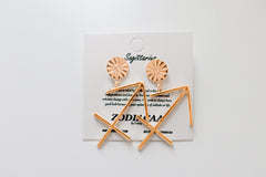 Sagittarius XL earrings