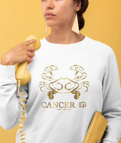 Cancer golden Unisex Sweatshirt