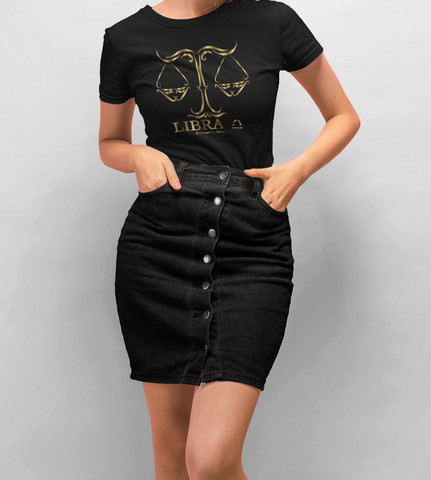 Libra golden T-Shirt
