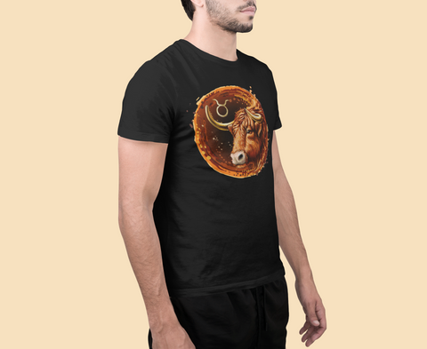 Men's Taurus The Bull Short-Sleeve T-Shirt