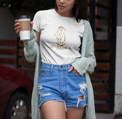 Capricorn Golden T-Shirt