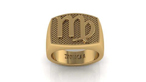 Virgo Gold&Bold mens ring