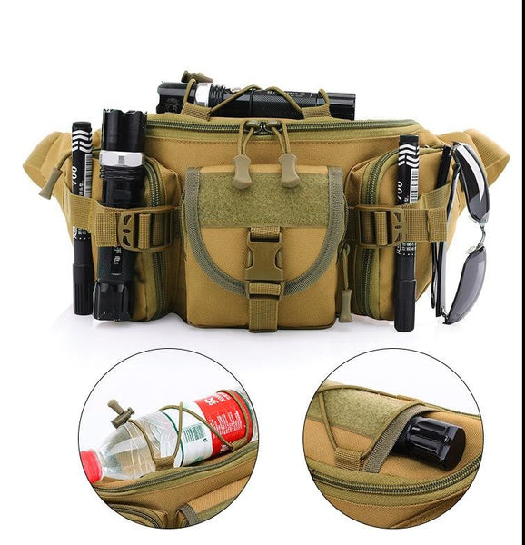 Waterproof Oxford Fabric Outdoor Water Bottle Waistbag