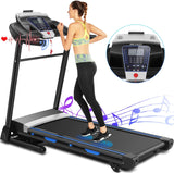 ANCHEER 3.25HP Folding Treadmill