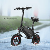 ANCHEER Mini-Size 12 Inch Wheel Folding Electric Bike Waterproof Scooter