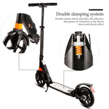 Ancheer A4 Adult Scooter Single Button Folding with Hand Brake