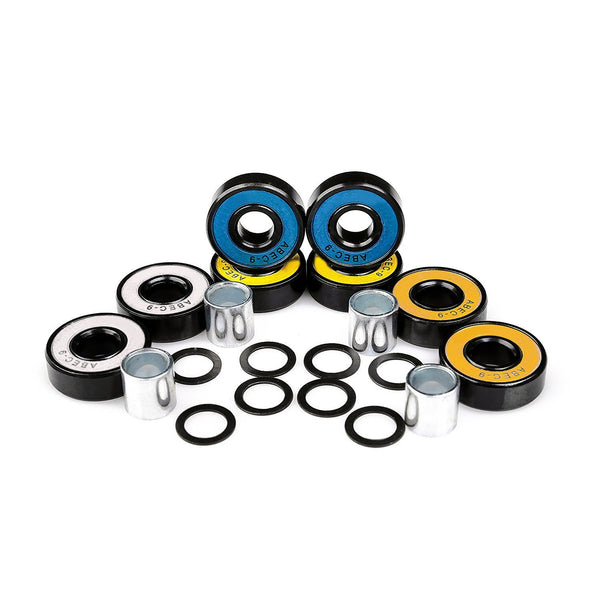 Ancheer ABEC 9 Skateboard Bearings (pack of 8)