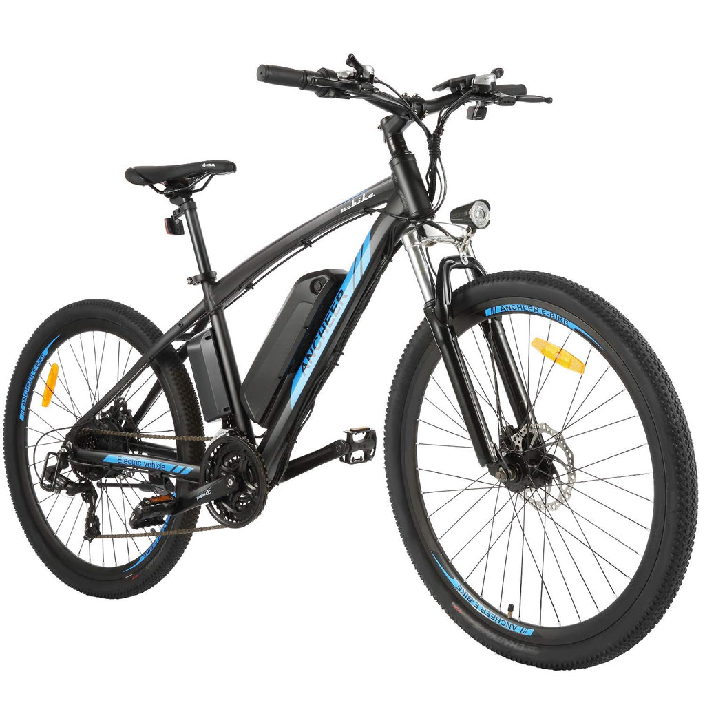 ancheer electric bike with lights