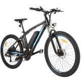 ANCHEER 27.5 Inch Wheel 48V 500W Blue Spark Electric Mountain Bike with Removable 48V 10Ah Battery (Pre-sale: Shipped 15 days after order)