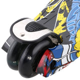 Ancheer R3 Graffiti Pattern Kids Kick Scooter For Age 3-15