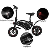 [Free Gloves]ANCHEER Folding Electric Bicycle E-Bike Waterproof Scooter