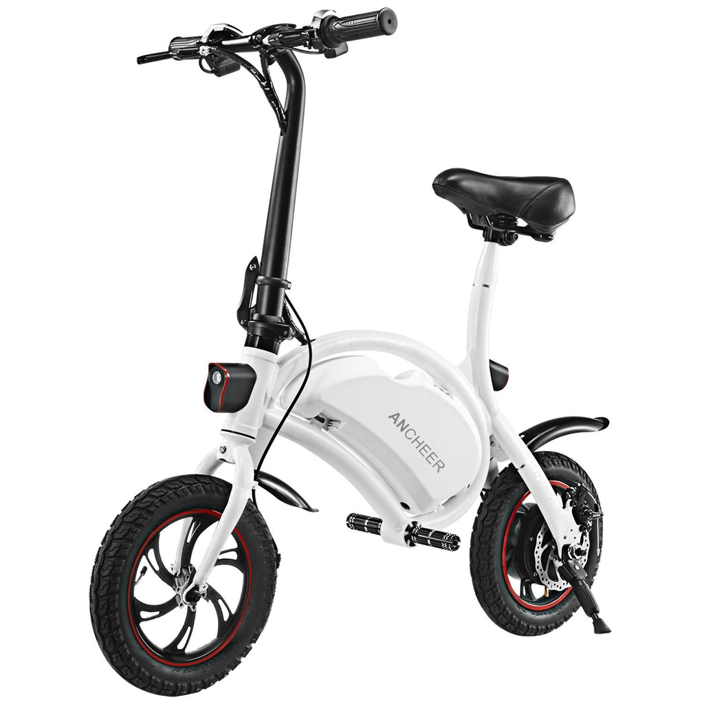 ANCHEER Mini-Size 12 Inch Wheel Folding Electric Bike Waterproof