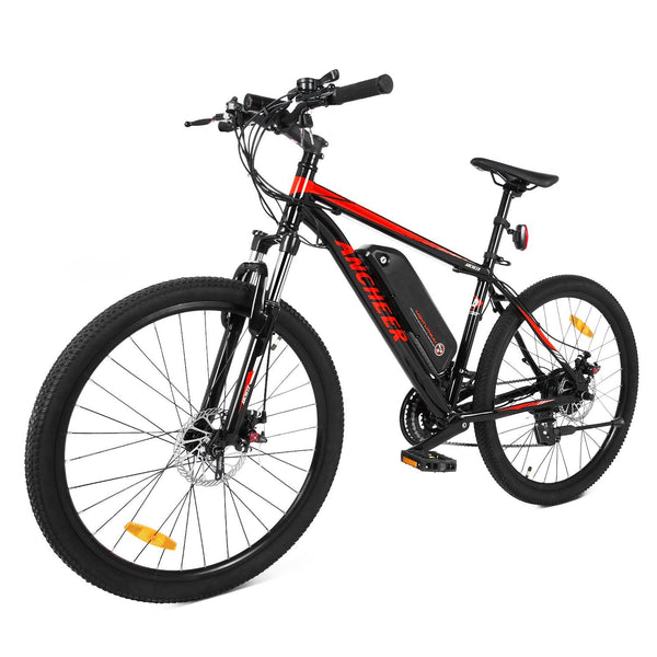 Ancheer 2018 Electric Mountain Bike with Removable LG 36V 8Ah