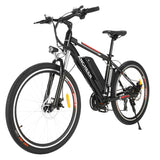 ANCHEER 26 Inch Wheel New Upgraded Electric Mountain Bike 500W with Removable 36V 12Ah Battery