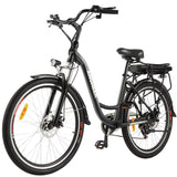 ANCHEER 26 Inch Wheel 250W Commuting Electric Cruiser Bike with Removable 12.5Ah Battery