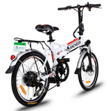Ancheer 20 Inch Wheel Folding City Commuter Electric Bike (Pre-sale: Shipped 15 days after order)