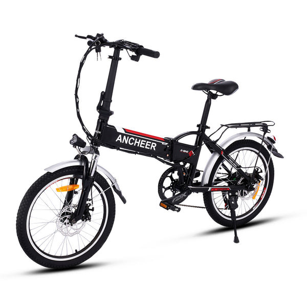 Ancheer 20 Inch Wheel Folding City Commuter Electric Bike