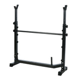 ANCHEER Weight Bench Squat Rack with Preacher Curl & Leg Developer