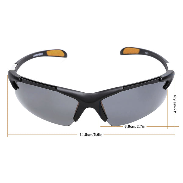 Men Fashion Polarized Outdoor Sports UV400 Protection Sunglasses Driving Glasses with Case