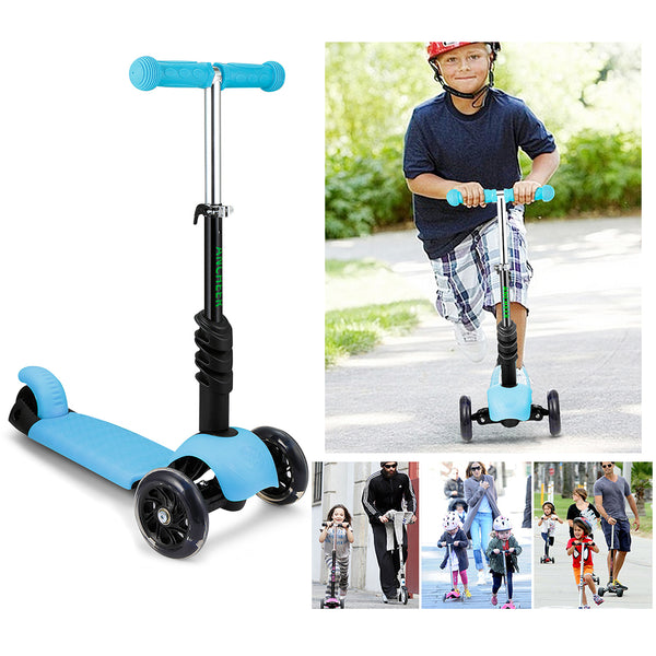 Kids 3-in-1 Toddler Scooter with Removable Seat