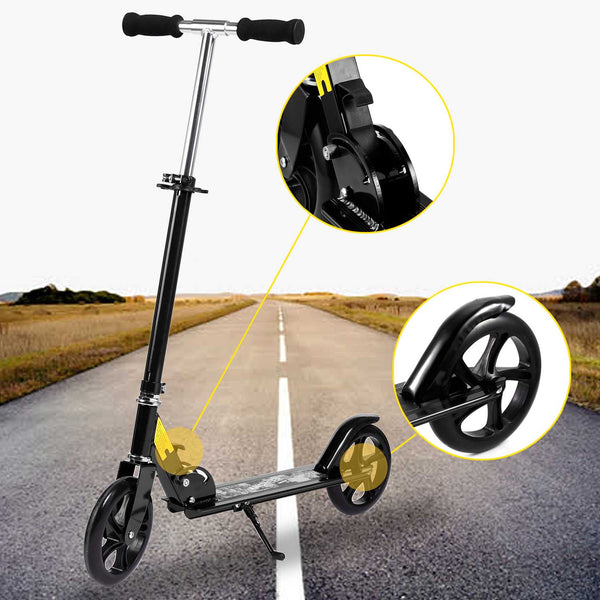 Ancheer 2 Big Wheels Commuter Scooter