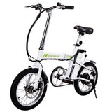 ANCHEER Folding Electric Bike, 16 Inch 250W Powerful Brushless Gear Motor