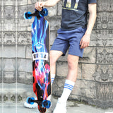 New Boys and Girls Drop Down Long Board Complete Skateboard Maple Wood Cruiser Skateboard