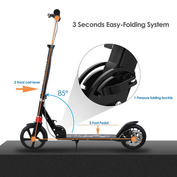 Ancheer A2 Scooter with Hand Brake and Disc Brake