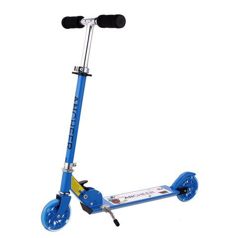 Ancheer B1 Scooter for kids with LED Light up Wheels