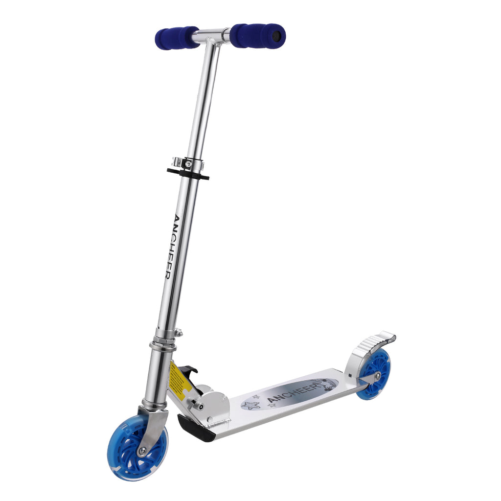 7481111f5643 Ancheer B2 Scooter for kids with LED Light up Wheels