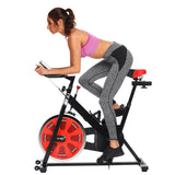 Ancheer Bike Health Fitness Belt Drive Indoor Exercise Cycling Bike