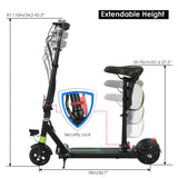 ANCHEER X-360 Electric Scooters with seat Max.220lb