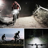 USB Rechargeable Headlights, XP5 Waterproof Cycling Bike Lights for Easy Installation