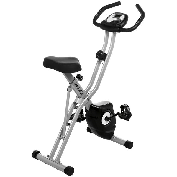 ANCHEER Magnetic Resistance Folding Exercise Bike, APP Control