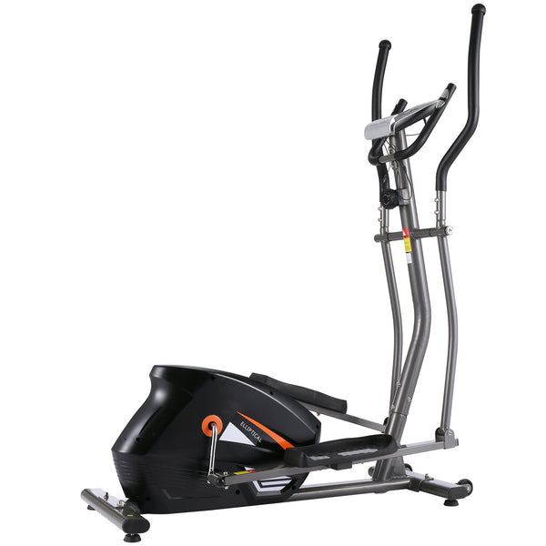 ANCHEER Smooth Quiet Driven Elliptical Trainer, 3D Virtual APP Control