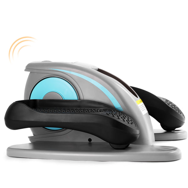 ANCHEER Quiet Compact Under Desk Elliptical