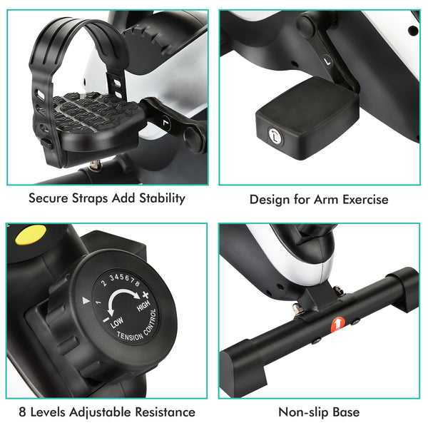 ANCHEER Under Desk Elliptical, APP Control