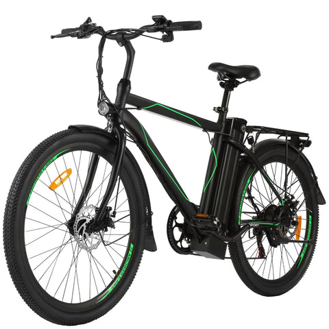 ANCHEER 26 Inch Wheel 250W Electric City Bike with Removable 36V Battery (Pre-sale: Shipped 15 days after order)